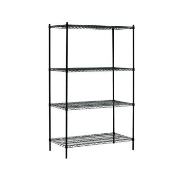 Wlt C3 4 Tiers Commercial Storage Rack Heavy Duty Chrome Steel Wire Shelving