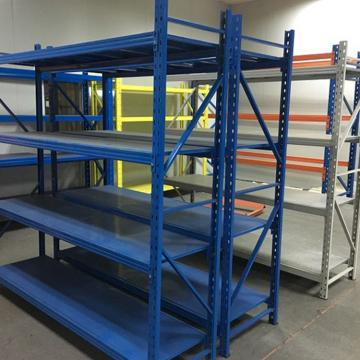 Hot Selling Qualified Long Span Shelving by Powder Coating